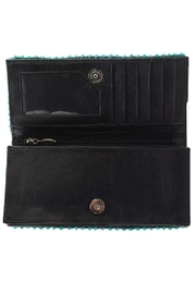 Mary Frances Squash Blossom Wallet - Back cropped