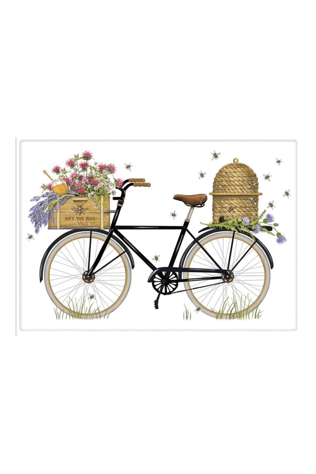 Mary Lake-Thompson Beehive Bike Towel - Front Cropped Image