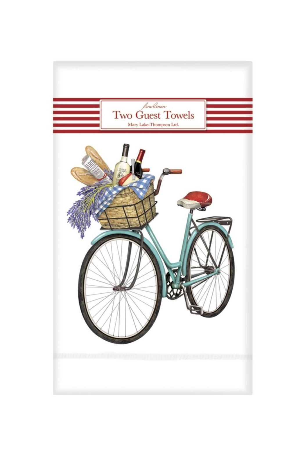 Mary Lake-Thompson Bicycle Guest Towels - Main Image