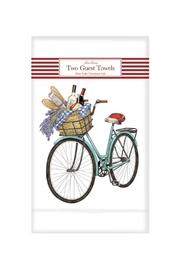 Mary Lake-Thompson Bicycle Guest Towels - Front cropped