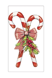Mary Lake-Thompson Candy Cane Towel - Front cropped