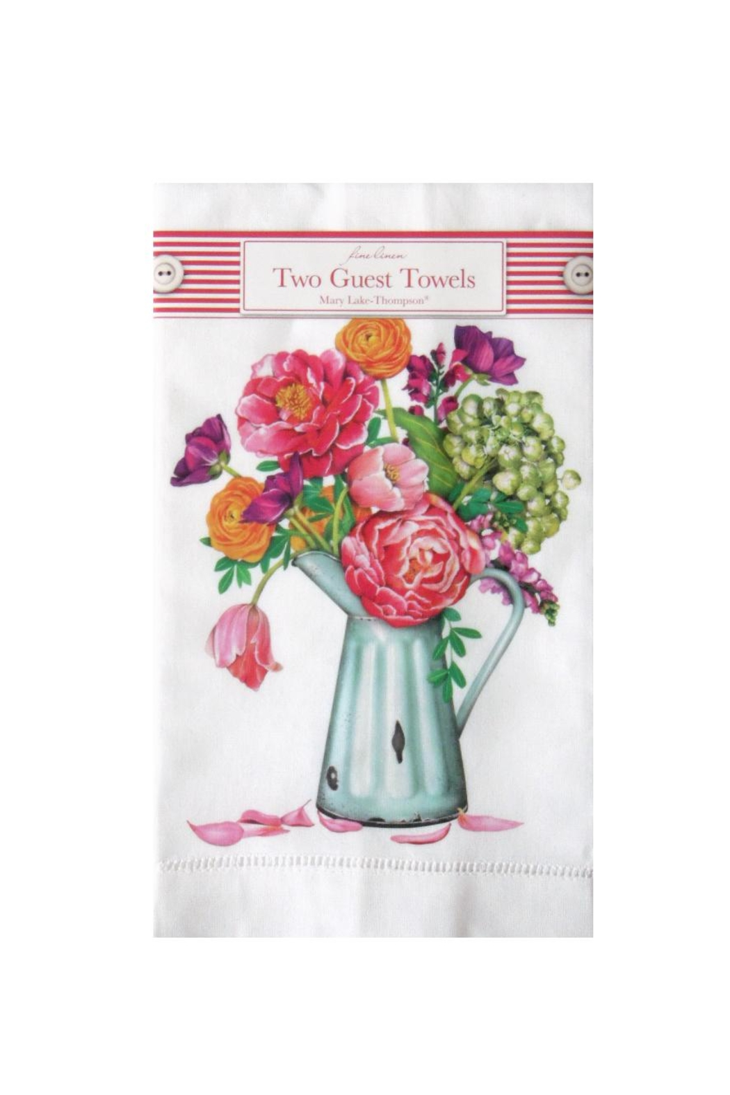 Mary Lake-Thompson Country Flowers Towels - Main Image