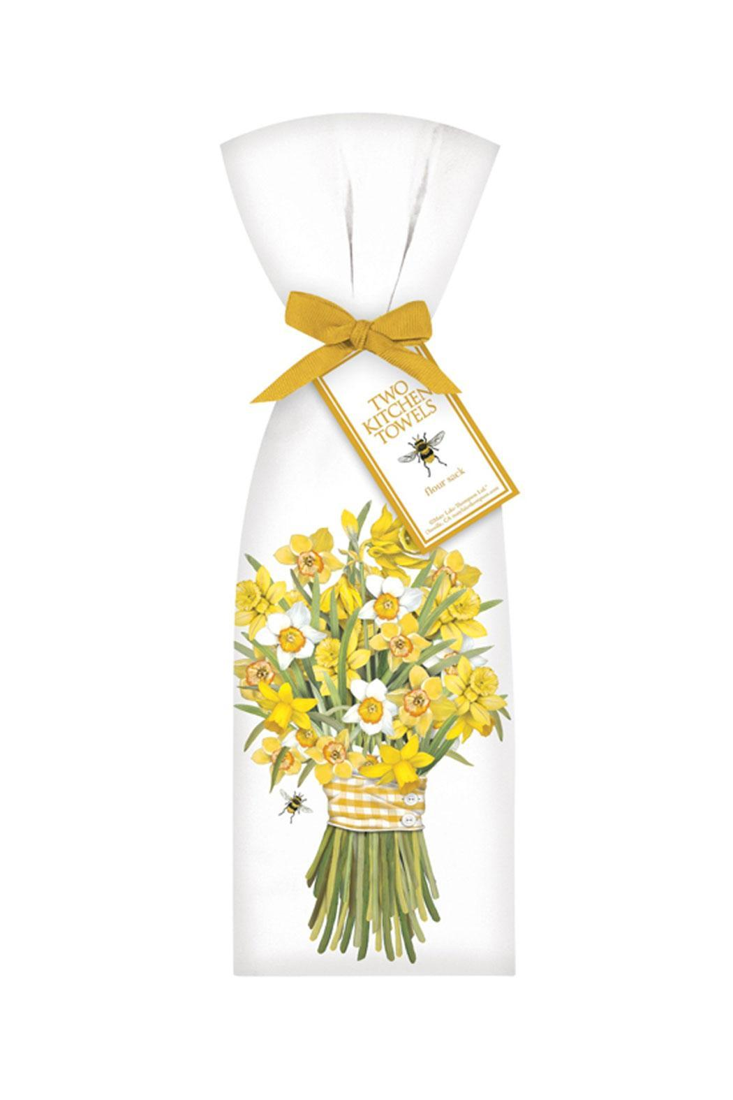 Mary Lake-Thompson Daffodil Bouquet Towels - Main Image