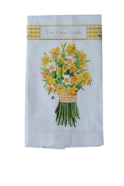 Mary Lake-Thompson Daffodil Guest Towels - Product Mini Image