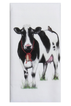 Shoptiques Product: Farmhouse Cow Towel
