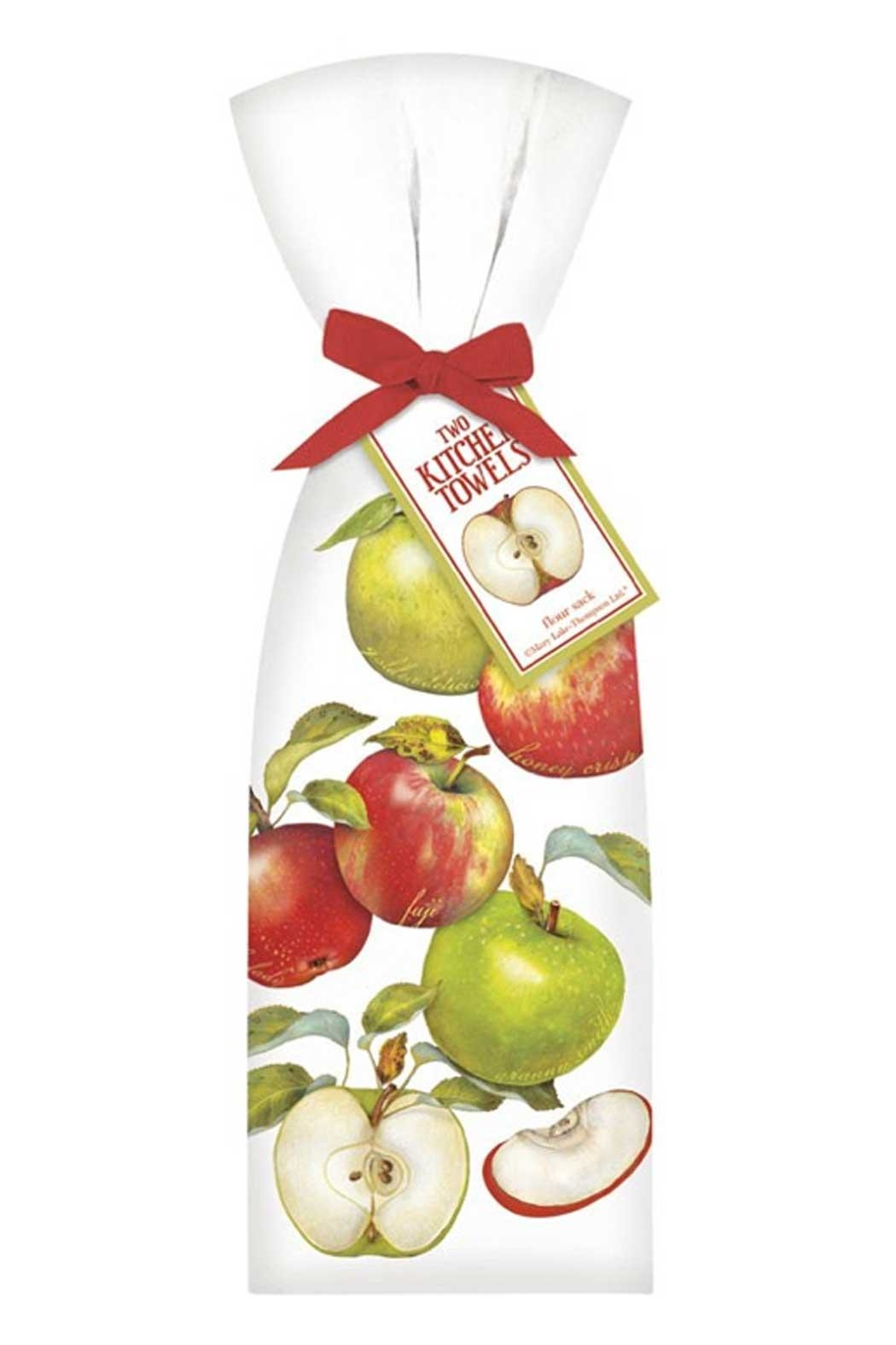 Mary Lake-Thompson Apples Scattered Towel Set - Main Image