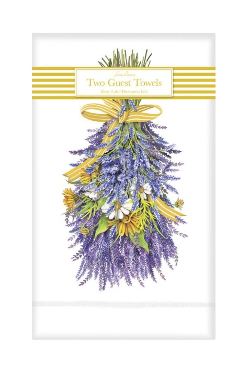 Mary Lake-Thompson Lavender Guest Towels - Front Cropped Image