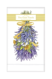 Mary Lake-Thompson Lavender Guest Towels - Front cropped