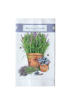 Shoptiques Product: Lavender Pot Towels