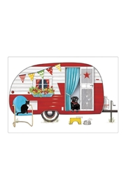 Mary Lake-Thompson Red Camper Towel - Product Mini Image