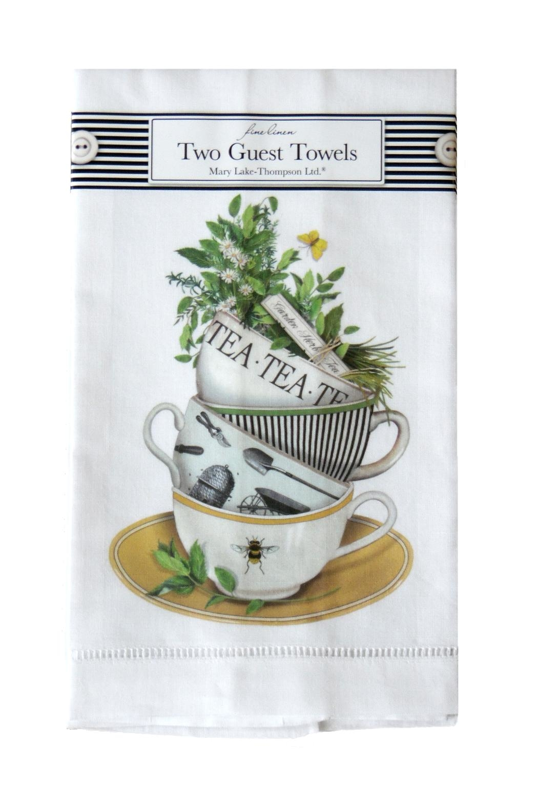 Mary Lake-Thompson Teacups Guest Towels - Main Image