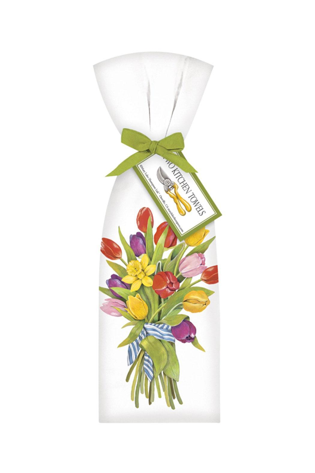 Mary Lake-Thompson Tulip Bouquet Towels - Main Image