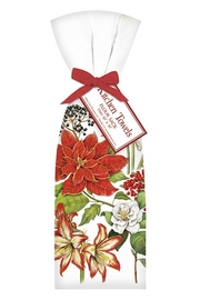 Mary Lake-Thompson Winter Flower Towelset - Front cropped