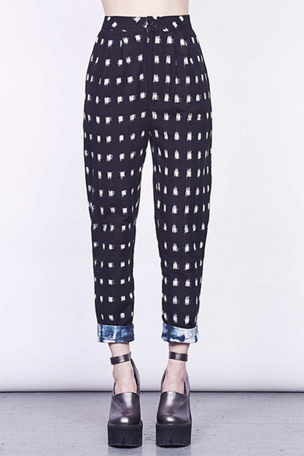 MARY MEYER of NEW YORK Ikat Pants - Side Cropped Image