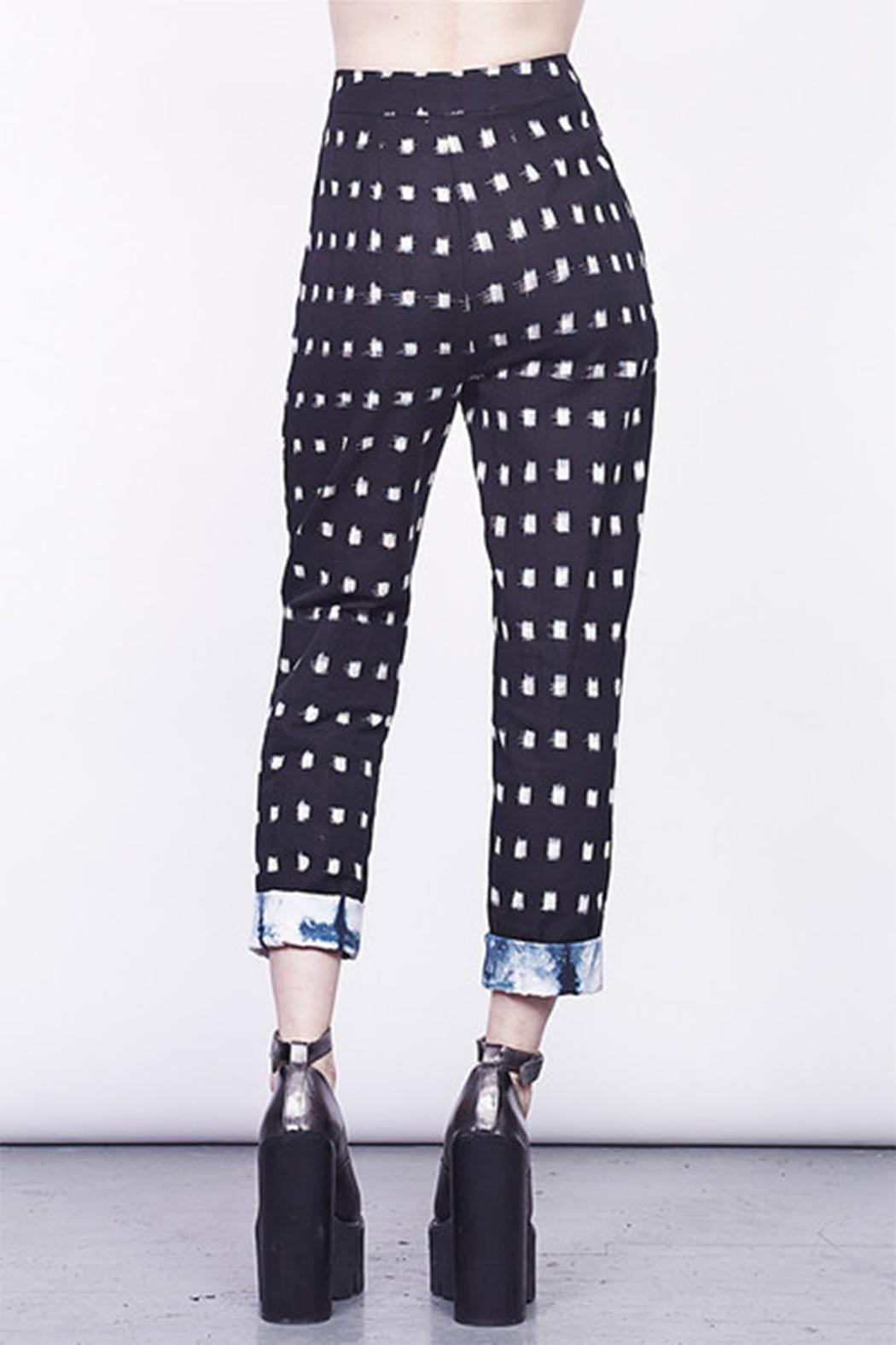 MARY MEYER of NEW YORK Ikat Pants - Front Cropped Image