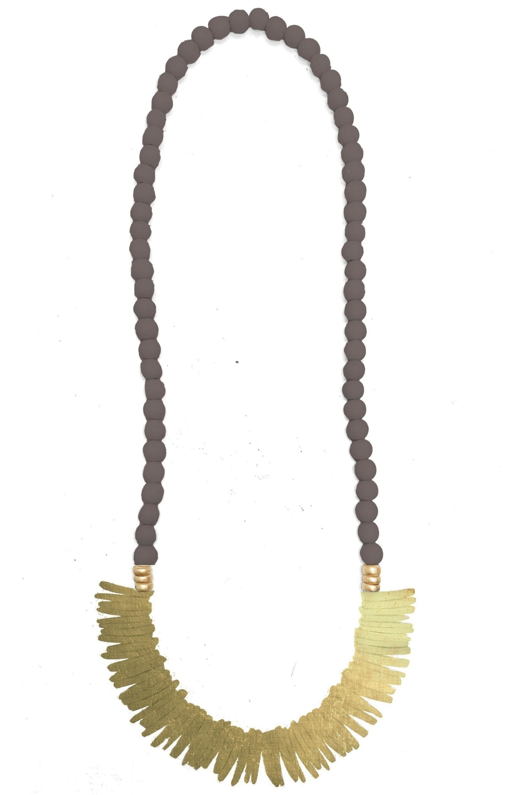 Mary Square Barbados Necklace - Main Image