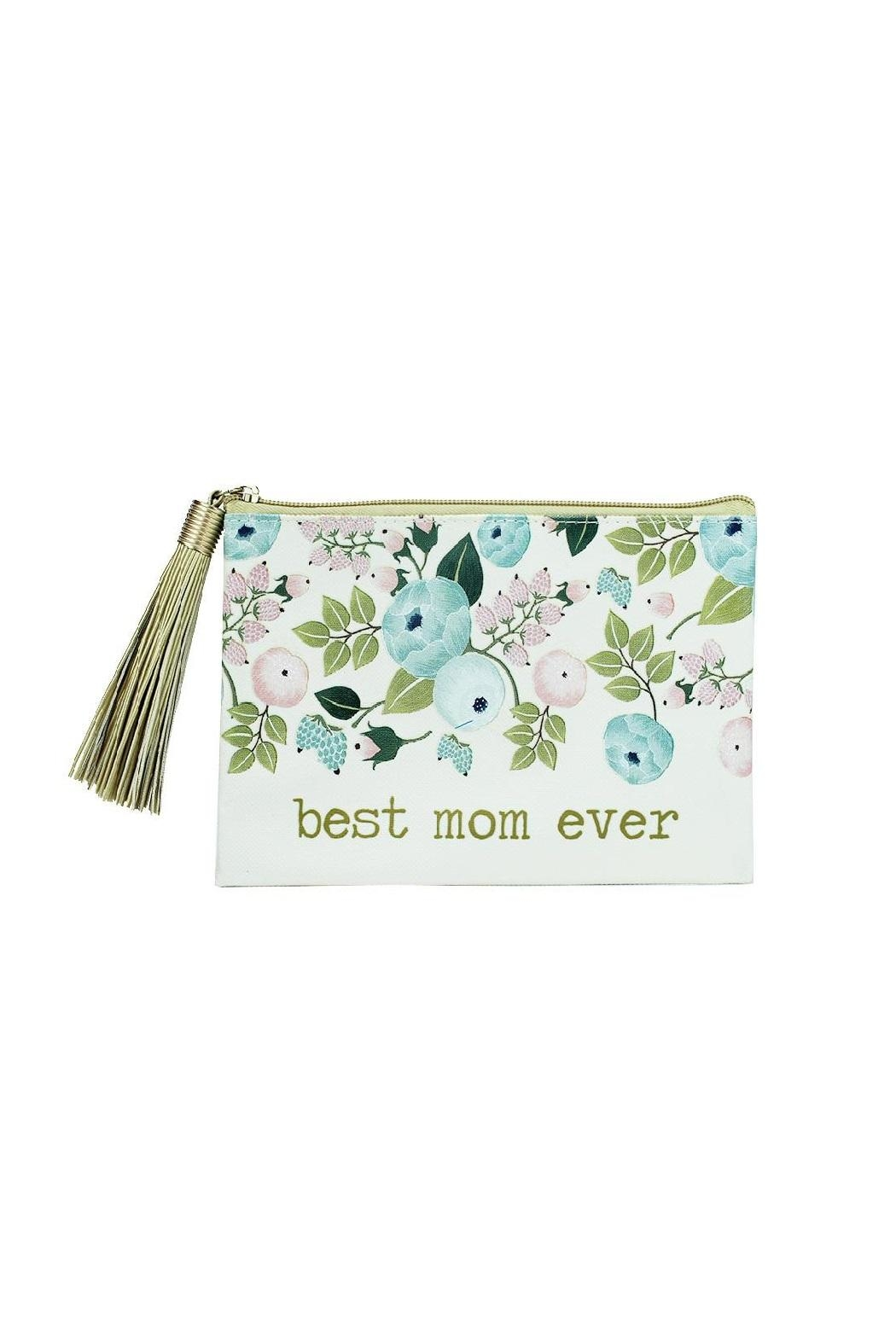 Mary Square Best Mom Pouch - Main Image