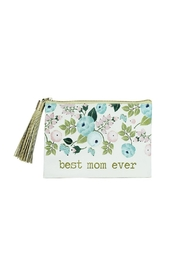 Mary Square Best Mom Pouch - Front cropped