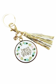 Mary Square Best Nana Keychain - Front cropped
