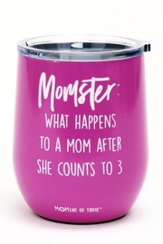 Mary Square Momster Wine Tumbler - Front cropped