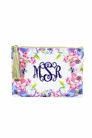 Mary Square Tropical Tassel Pouch - Product Mini Image