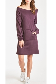 Another Love MaryJane Pocket Off-Shoulder Dress - Front cropped