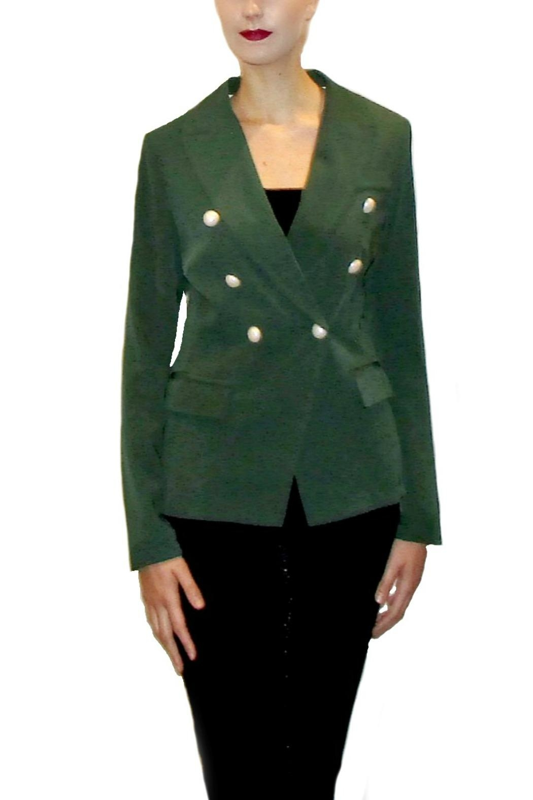 Maryley Green Double-Breasted Blazer - Main Image