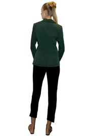 Maryley Green Double-Breasted Blazer - Front full body