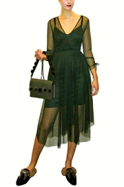Maryley Green Tulle Dress - Product Mini Image
