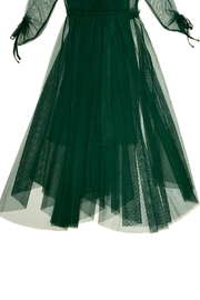 Maryley Green Tulle Dress - Side cropped