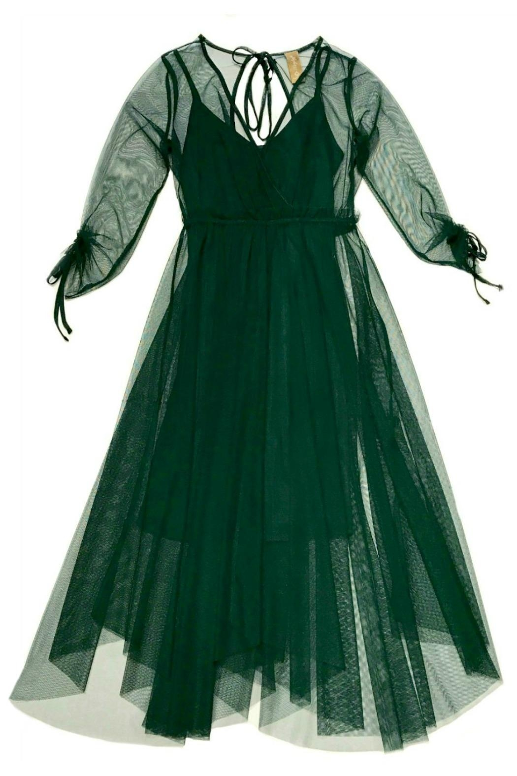 Maryley Green Tulle Dress - Main Image