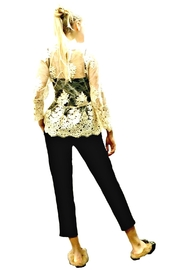 Maryley Ivory Lace Blouse - Front full body