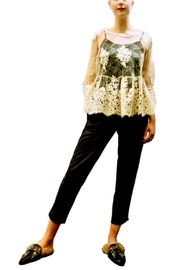 Maryley Ivory Lace Blouse - Product Mini Image