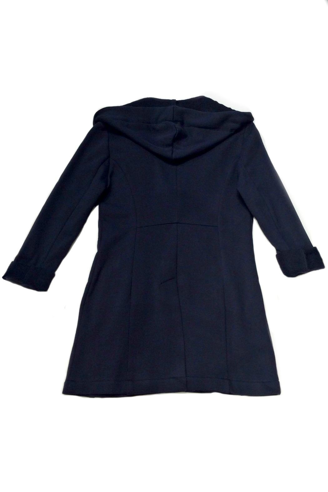 Maryley Knit Hoodie Blazer - Front Full Image