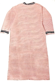 Maryley Pink Tweed Duster - Side cropped