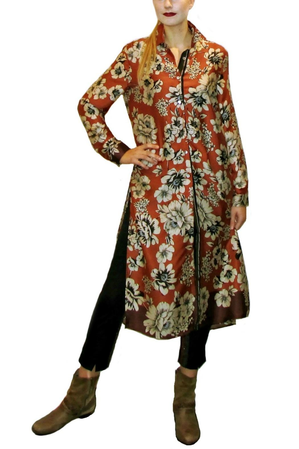 Maryley Spice Floral Dress - Main Image