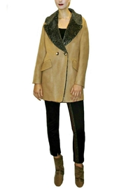 Maryley Tan Doublebreasted Coat - Product Mini Image