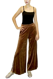 Maryley Velvet Palazzo Pants - Product Mini Image