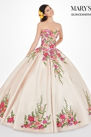 Mary's Bridal Marys Quinceanera Dresses In Gold/Multi - Product Mini Image