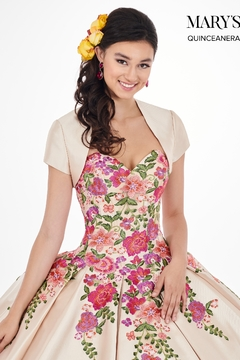Mary's Bridal Marys Quinceanera Dresses In Gold/Multi - Alternate List Image