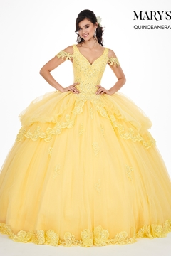 Shoptiques Product: Marys Quinceanera Gown In Yellow