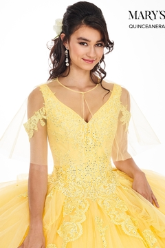Mary's Bridal Marys Quinceanera Gown In Yellow - Alternate List Image