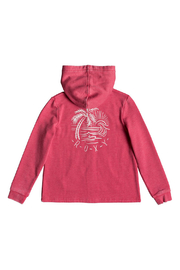 Roxy Mask and Snorkels A Zip Up Hoodie - Front full body