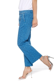 Mason's New York Trumpet Women's Trousers In Flower Print Cotton - Product Mini Image