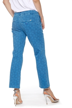 Mason's New York Trumpet Women's Trousers In Flower Print Cotton - Alternate List Image