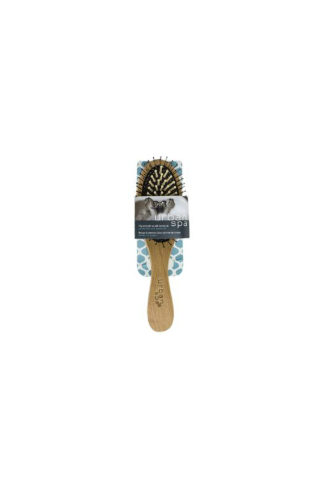 Pre de Provence MASSAGING HAIR BRUSH - Front Cropped Image