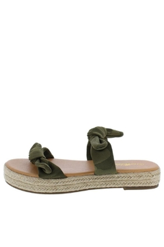 Shoptiques Product: Camo Espadrille Sandals