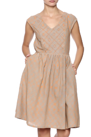 Mata Traders Aurora V-neck Dress - Front cropped