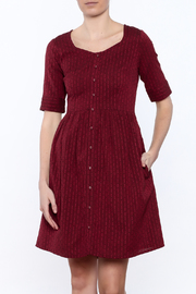 Mata Traders Chalet Garnet Dress - Product Mini Image