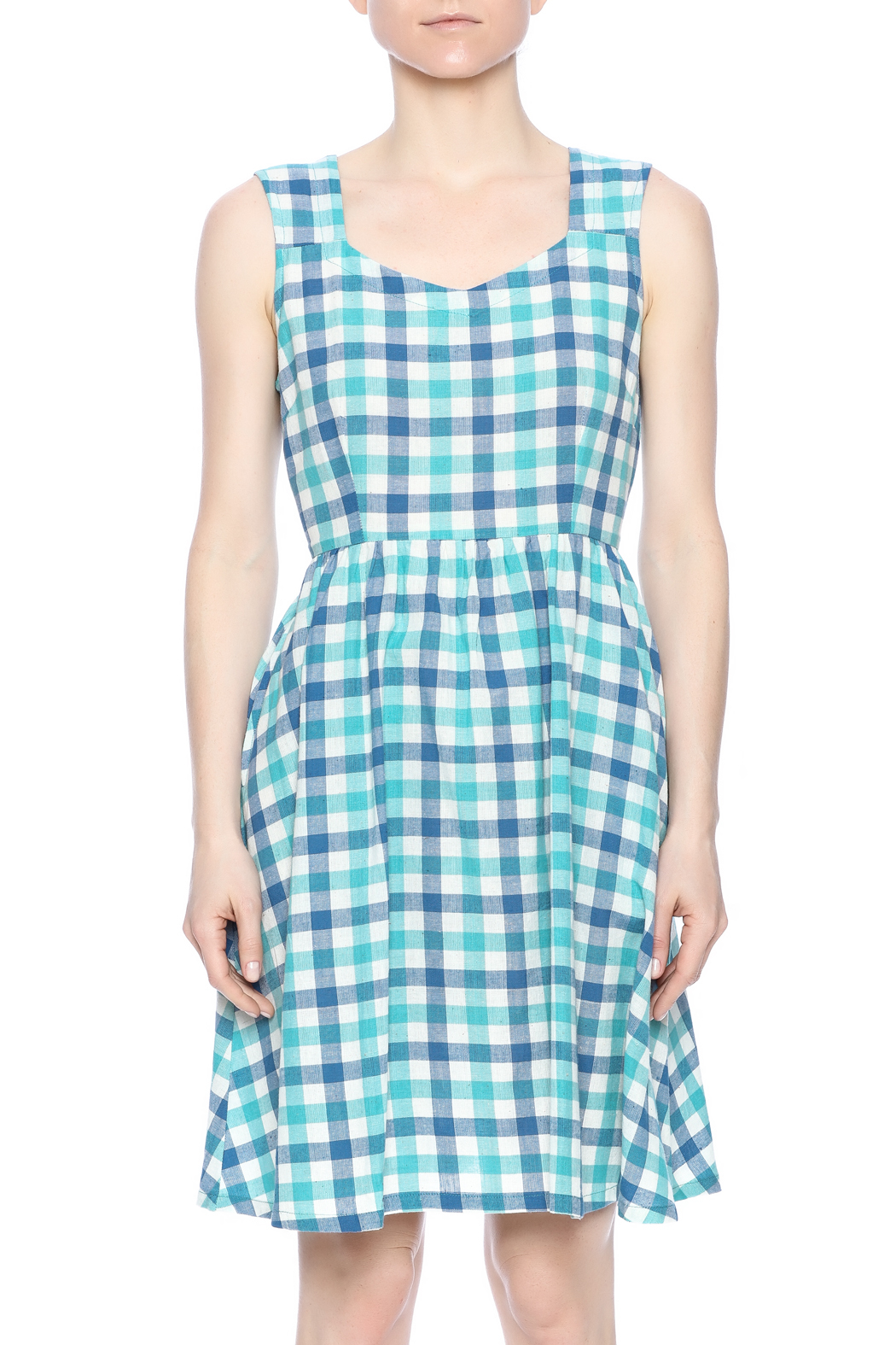 Mata Traders Darling Poets Dress - Side Cropped Image